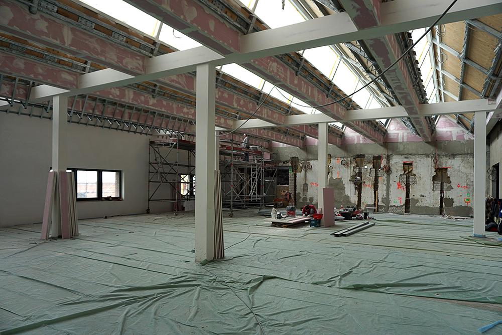 Umbau M2 (Zweites Geschoss Maschinenhaus)
