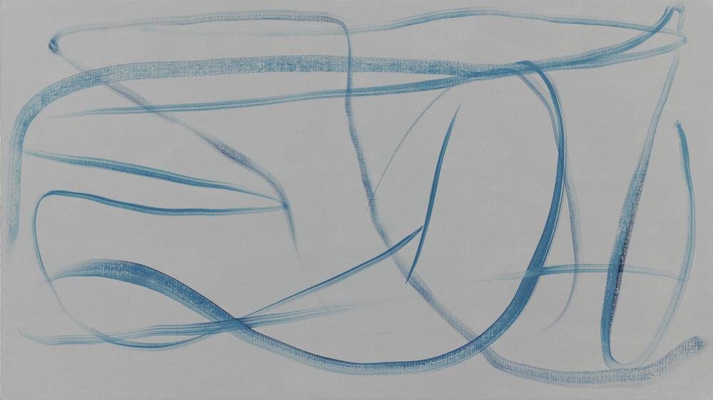 Eberhard Havekost, 2015, 3 Minuten, B15, 45 x 80 cm