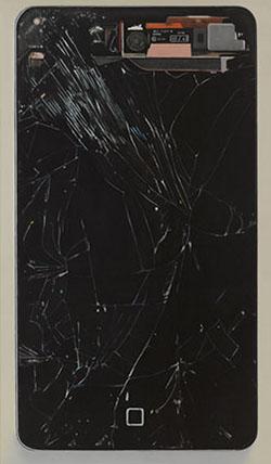 Eberhard Havekost: Baum, B15, 2015, Courtesy: Galerie Gebr. Lehmann und Anton Kern Gallery, Foto / Photo: Werner Lieberknecht.