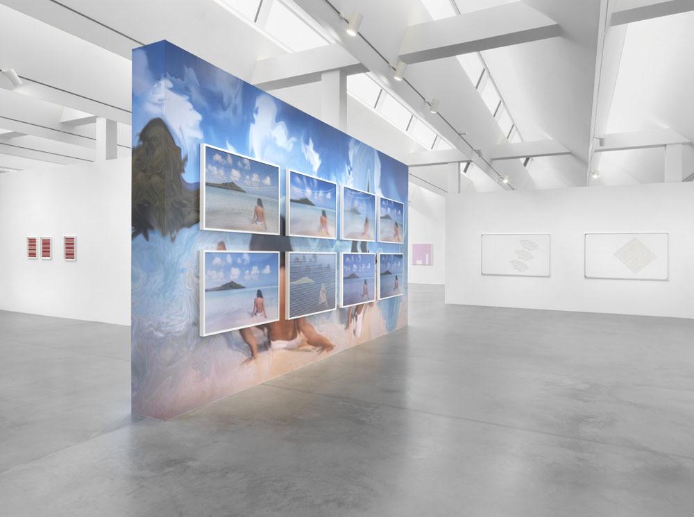Behind the Screen , Ausstellungsansicht Maschinenhaus M2, Foto: Jens Ziehe, 2019