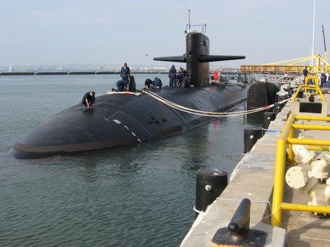 USS Helena, Sub Base San Diego