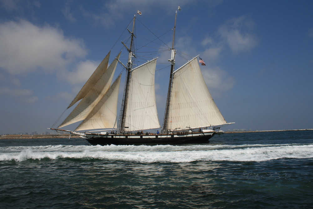Tall Ship San Diego Bay