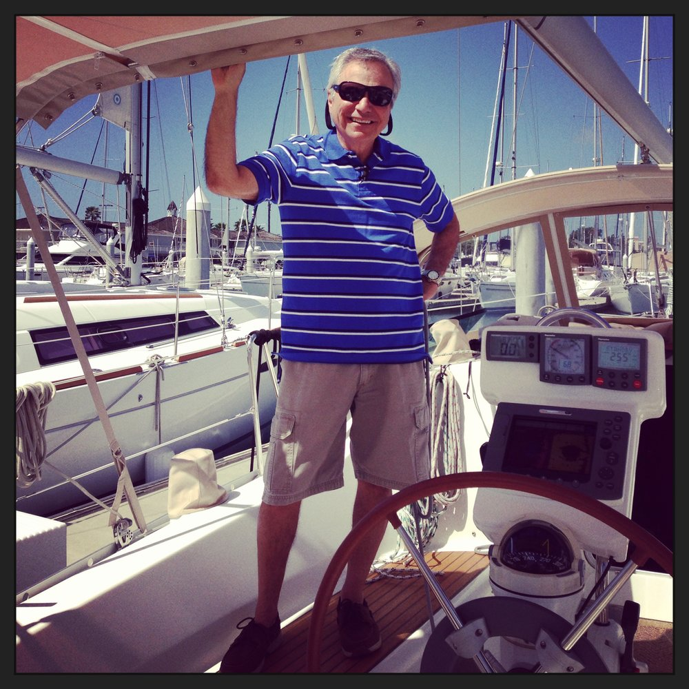 Rick and his family spend leisure time sailing the Pacific Ocean off the coast of San Diego, California on his Beneteau 33 foot sailboat, 'Airtime'. Rick's new pastime is Sailing, Photography, taking pictures of the sea and all things boats!