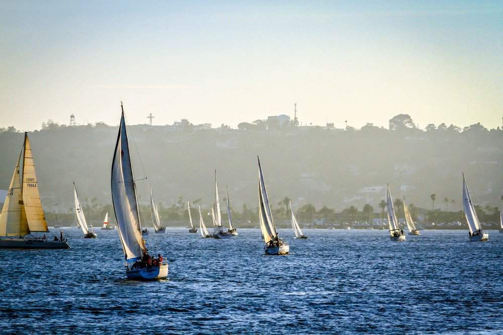Wednesday afternoon on San Diego Bay