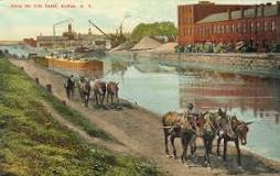 This year marks the 200th anniversary of the start of the construction of the Erie Canal in Rome in central New York. Work began on the 363-mile long waterway on July 4, 1817. The canal was officially opened in Buffalo on Oct. 26, 1825 by Gov. DeWitt Clinton.