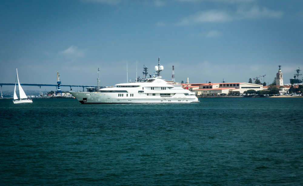 Big Boat on San Diego Bay
