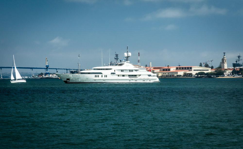 Big Boat on San Diego Bay