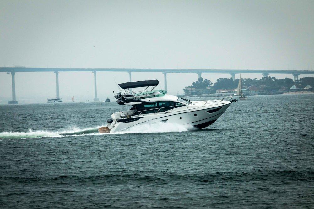 Beneteau Gran Turismo on San Diego Bay.