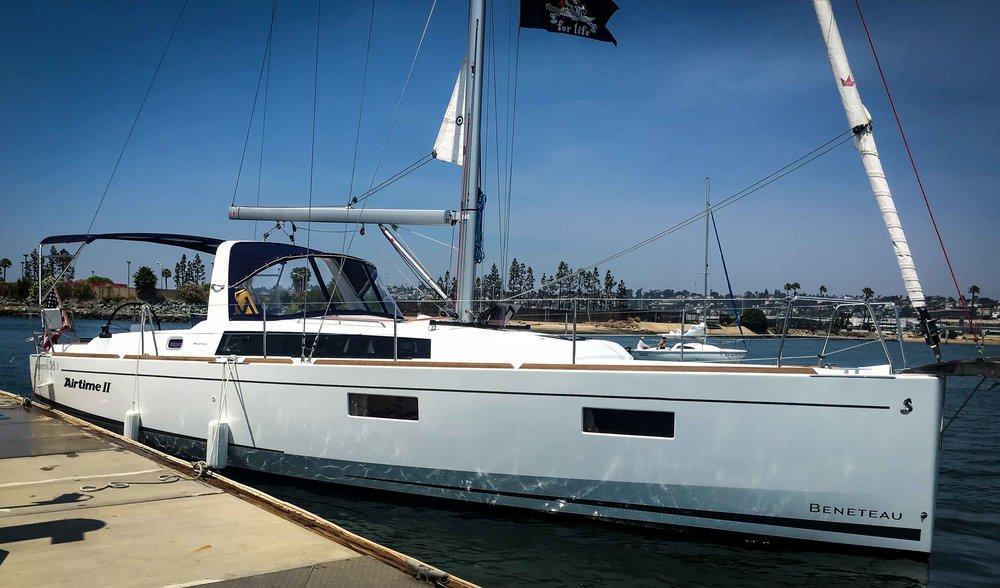 Airtime II. 2017 Beneteau Oceanis 38.1 Sailboat.