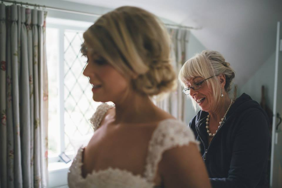 Wedding Hair for a beautiful Bride and Mother of the Bride