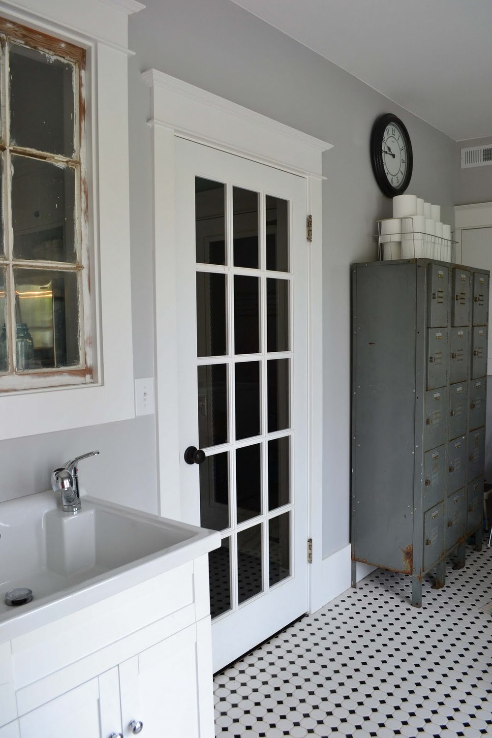 Farmhouse mud room