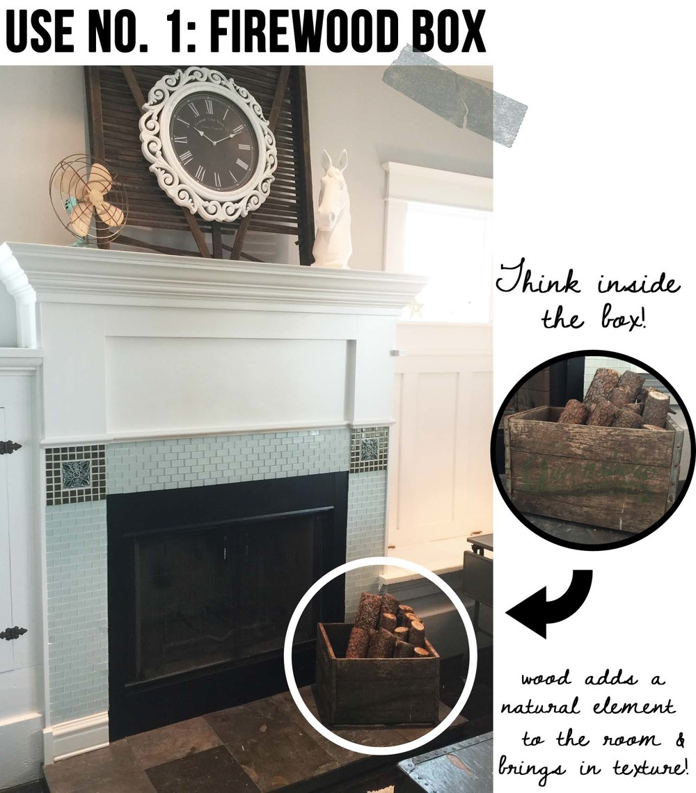 how to use wooden crates in your home decor u2014 tfd style