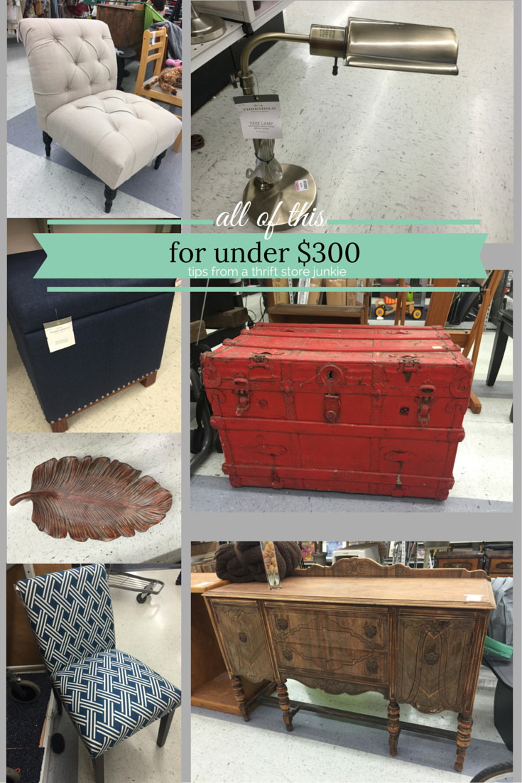 Thrift store Thursday-Where to find great deals on home decor
