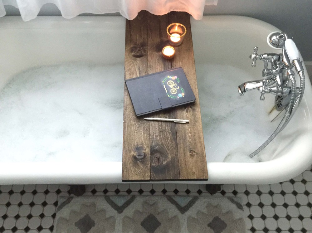 Ana White | DIY Bath Caddy Featuring TFD Style - DIY Projects