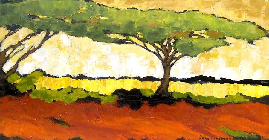Acacia Canopy Acrylic 24 x 48 Sold