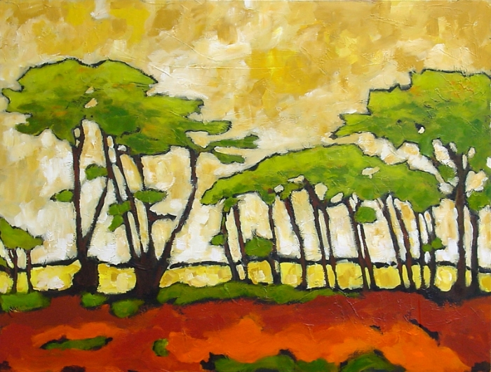 Shore Pines 36 x 48 Sold