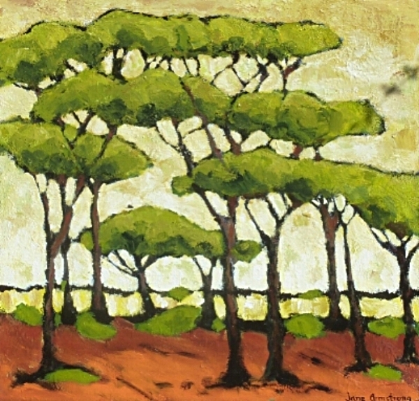 Pine Grove Acrylic 36 x 36