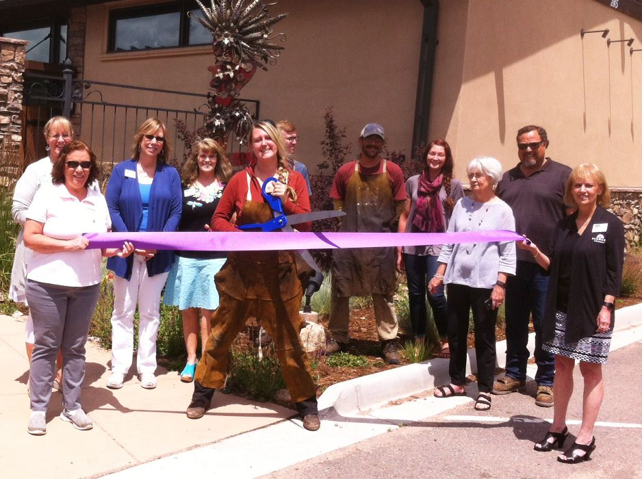 Ribbon Cutting - Bliss Gallery - July 13 2017
