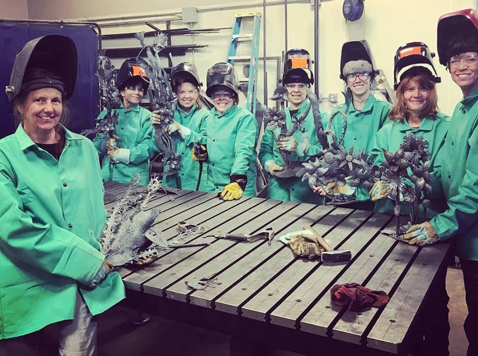 Spontaneous Steel Sculpture Workshop