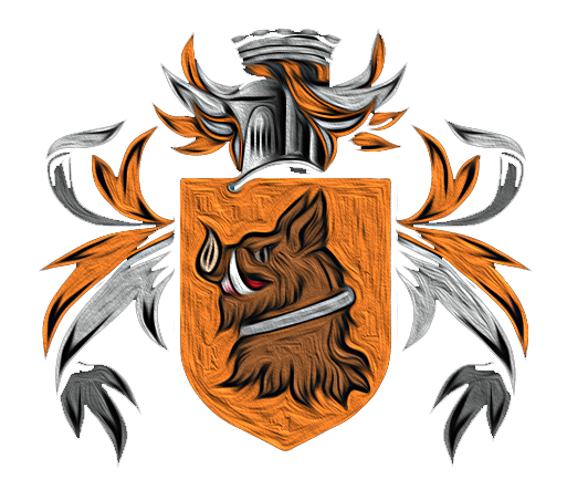 The Tethian coat of arms (unofficial, derived from the city crest of Tetta and commonly ascribed to the nascent House Pebblebrook)