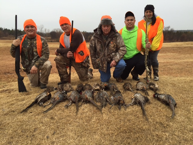 seven o group shot bird hunt lew.JPG