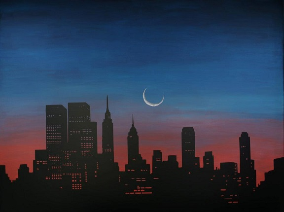 JL did a great job with his vision of our NYC Skyline. Thanks for sharing the picture of your completed project.
