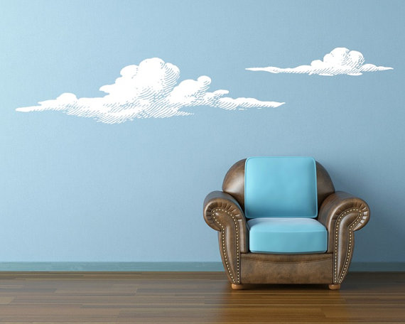 Superior Cloud Wall Decals