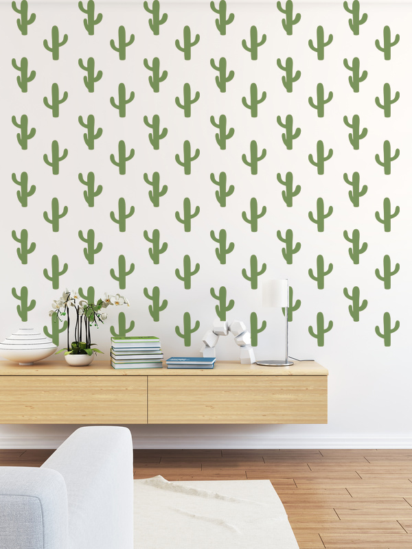 Cactus Wall Decals — Wall Star Graphics