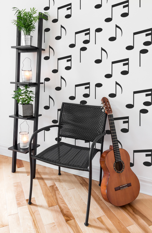 Music Notes Wall Decals — Wall Star Graphics