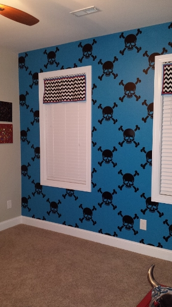 Thanks Julie for sharing the pictures of your completed project and welcome back!  We love return visits.
