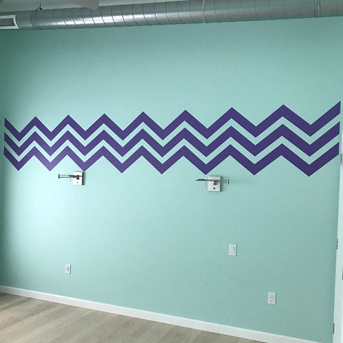 Chevron Wall Decal Wall Star Graphics