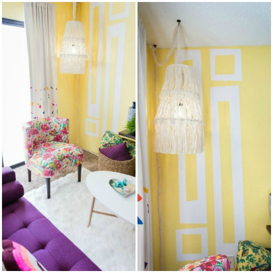 "YouTube ""Rainbow Room Makeover""  featuring our  retro inspired wall decals  Photo credit: Mr. Kate"