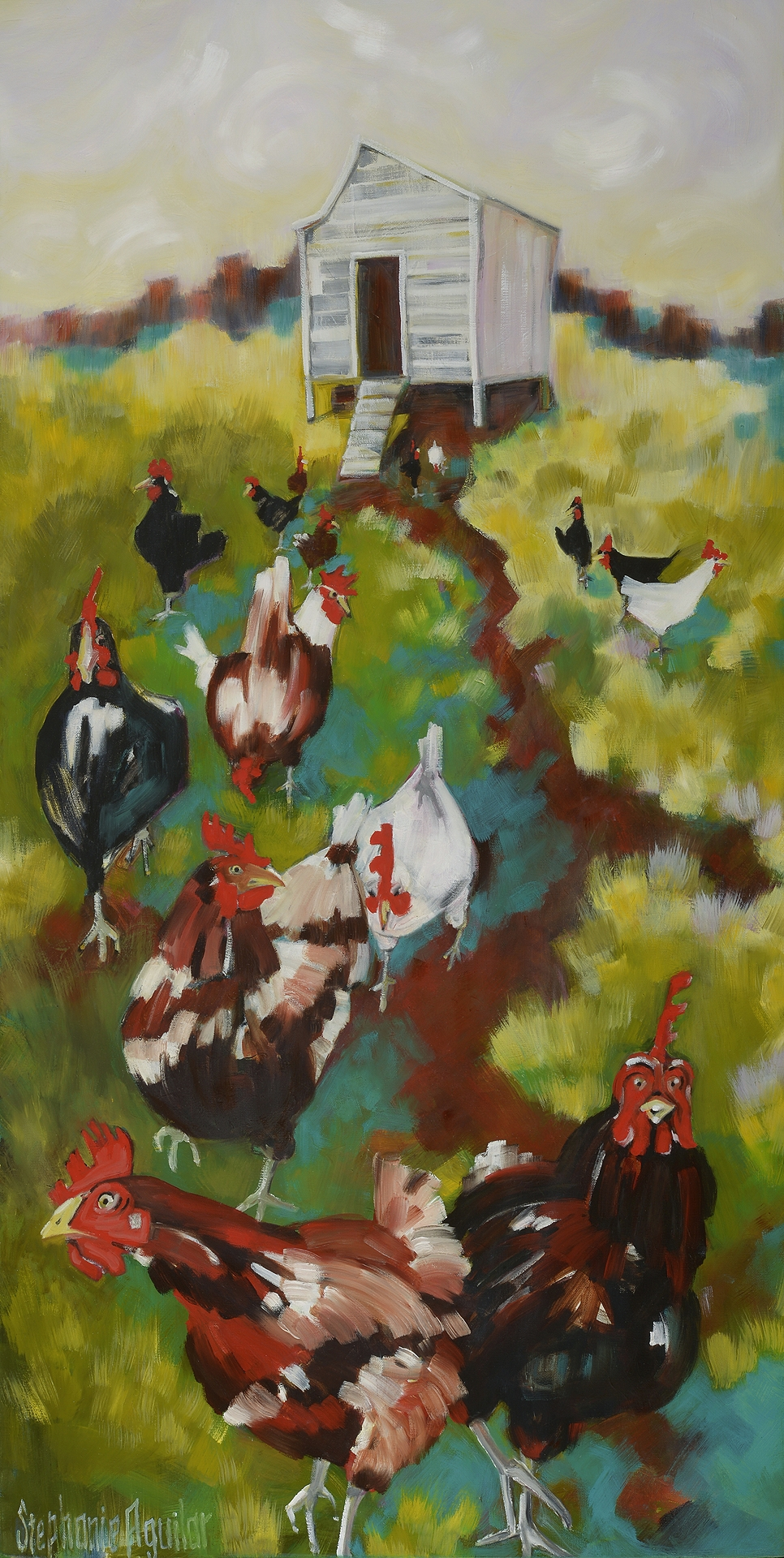 Out of the Hen House, 2017