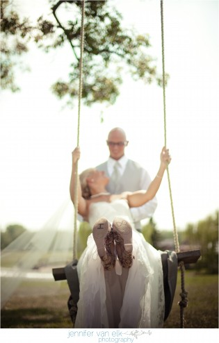 Outdoor Muncie Indiana Wedding | Jennifer Van Elk Photography | Eaton Indiana_068