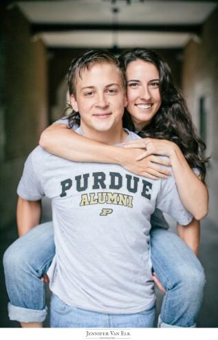 Rainy Engagement Session Purdue University| West Lafayette, IN | Indianapolis Wedding Photographers_010