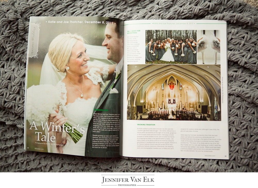 indianapolis wedding day magazine