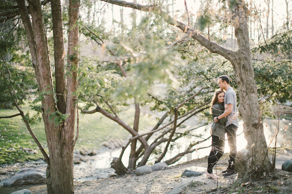 Holcomb Gardens Engagement