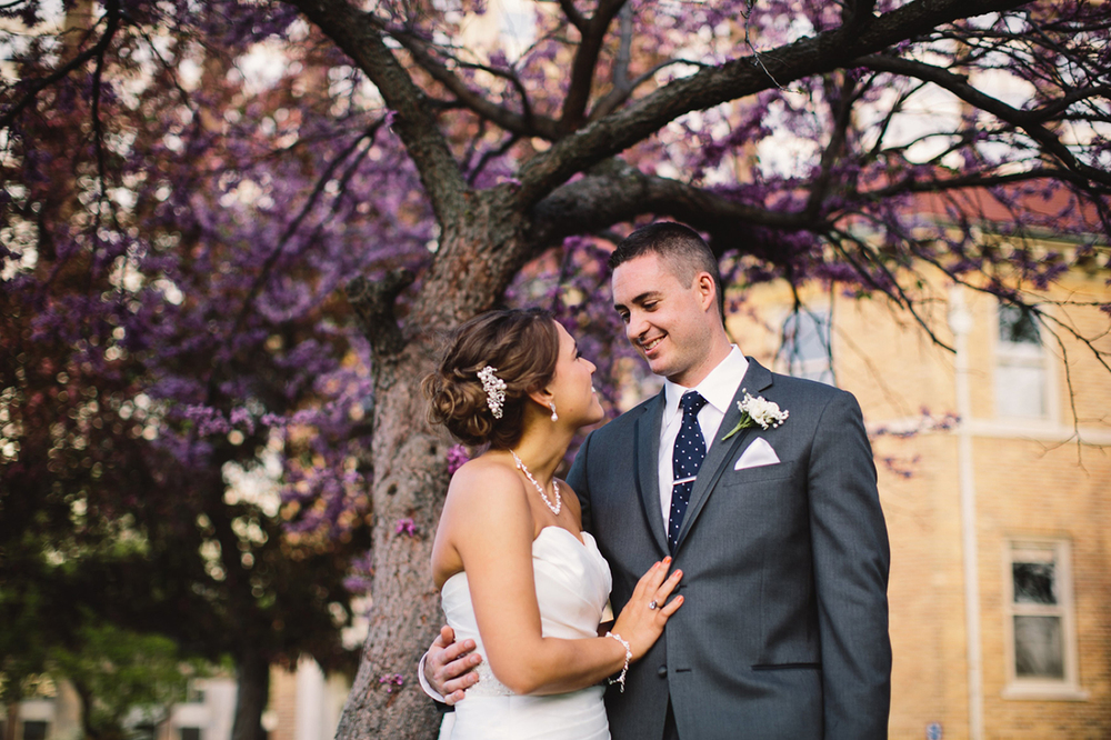 Downtown Indy wedding