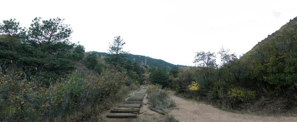 Base of the Manitou Incline