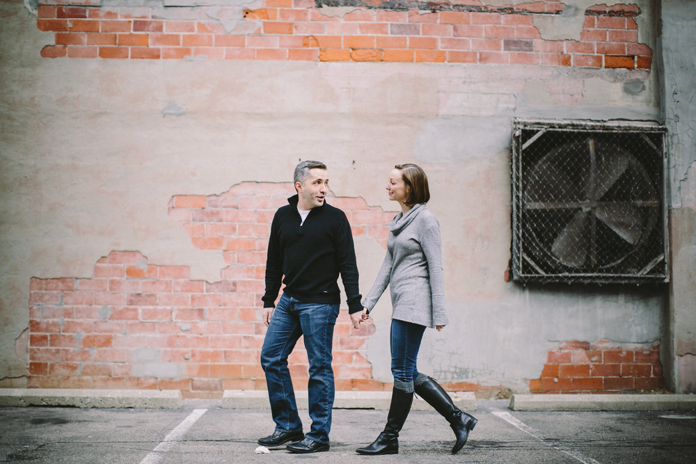 Downtown Indianapolis Engagement 10