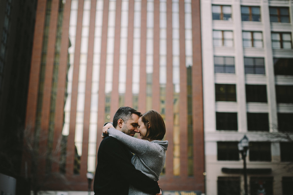 Downtown Indianapolis Engagement 12