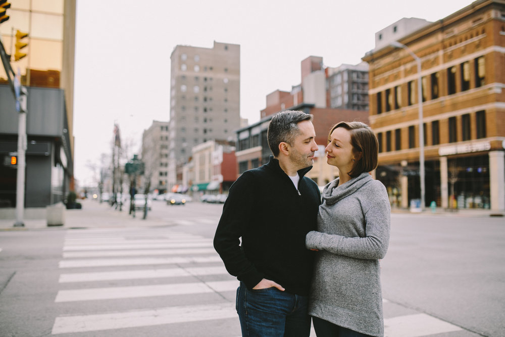 Downtown Indianapolis Engagement 14