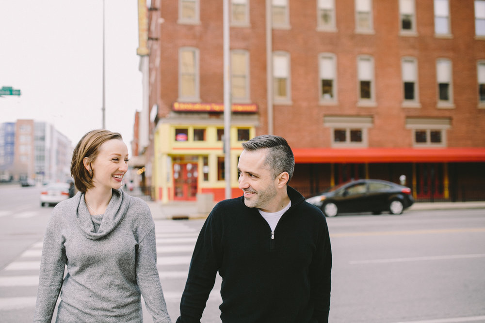 Downtown Indianapolis Engagement 15