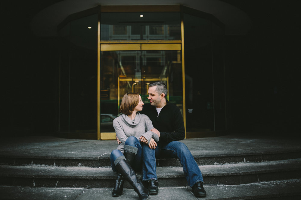 Downtown Indianapolis Engagement 16
