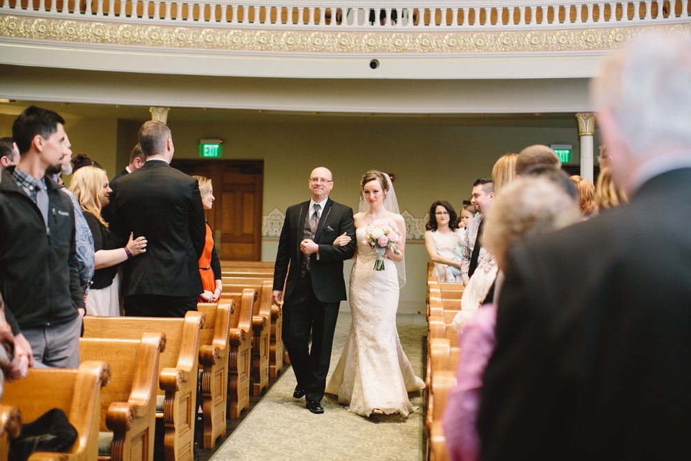 Indiana Landmarks Center Wedding Photos 30