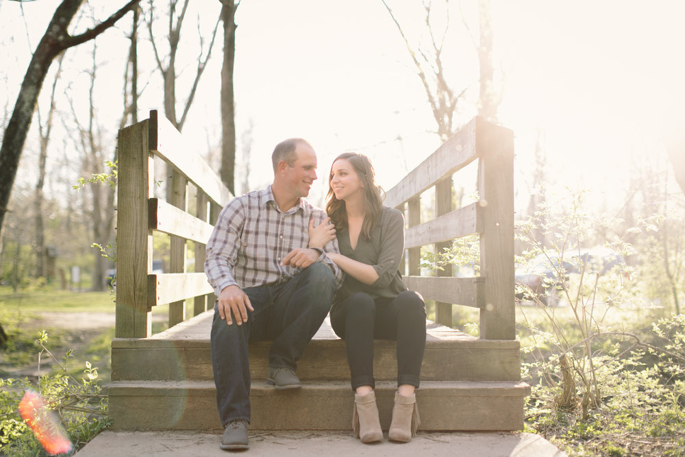 Cool Creek Engagement Photos 11