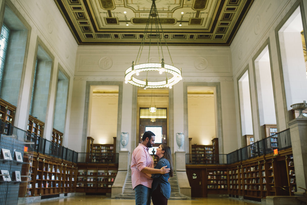 Indianapolis Central Library Engagement Session 10