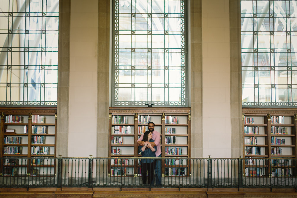 Indianapolis Central Library Engagement Session 13