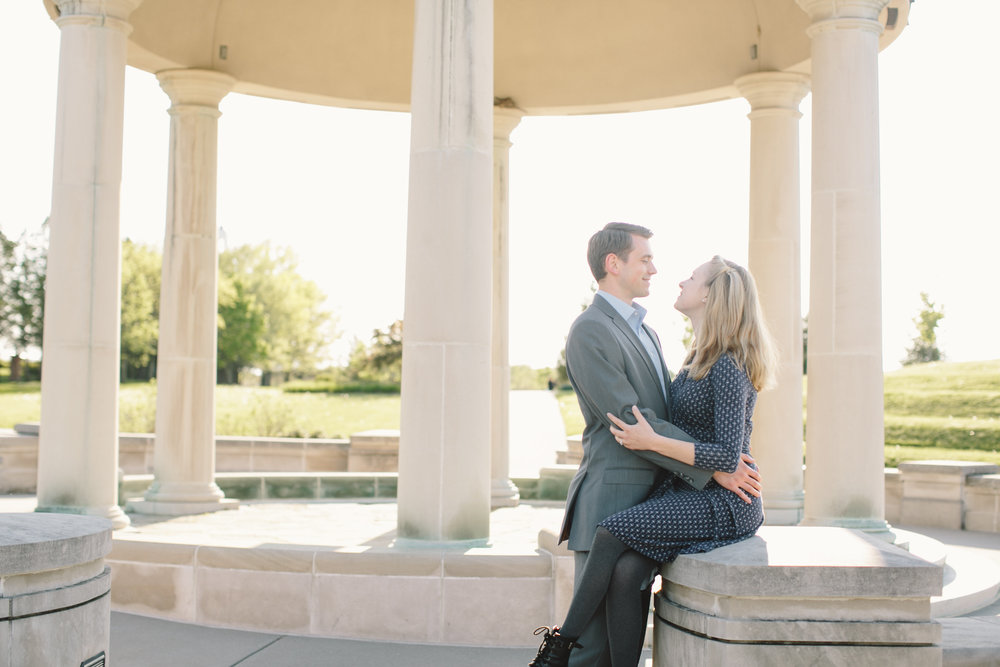 Coxhall Gardens Carmel IN Engagement Session 08