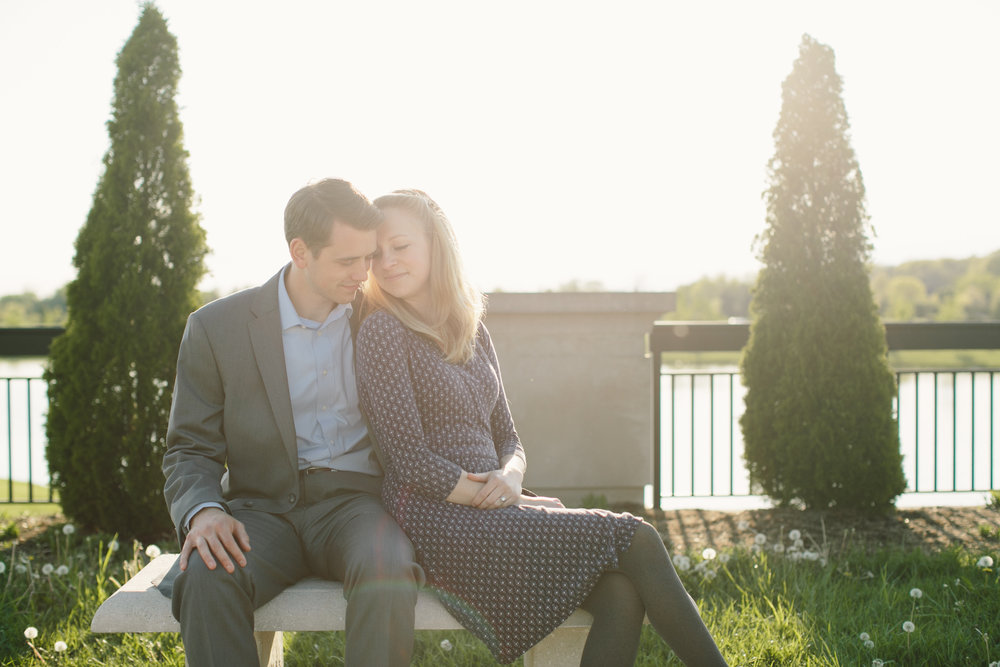 Coxhall Gardens Carmel IN Engagement Session 15